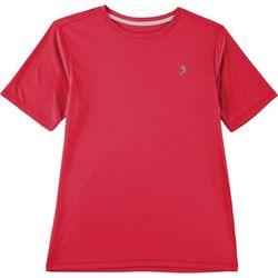 Reel Legends Big Boys Reel-Tec Solid Short Sleeve T-Shirt