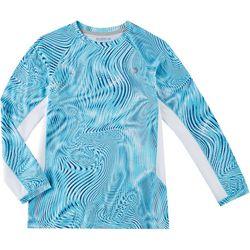 Reel Legends Big Boys Keep It Cool Optic Swirl T-Shirt