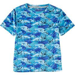 Reel Legends Little Boys Reel-Tec Barracuda Invasion T-Shirt