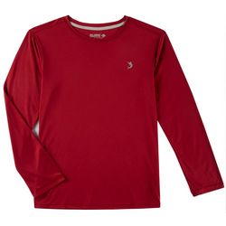 Reel Legends Little Boys Reel-Tec Solid Long Sleeve T-Shirt