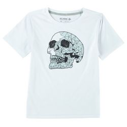 Reel Legends Big Boys Reel-Tec Sculpted Skull T-Shirt
