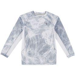 Reel Legends Little Boys Keep It Cool Camo Scratch T-Shirt