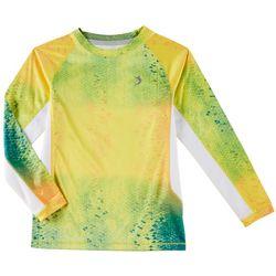 Reel Legends Little Boys Keep It Cool Colorful Skin Shirt
