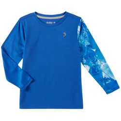 Reel Legends Little Boys Freeline Plaster Water Rashguard