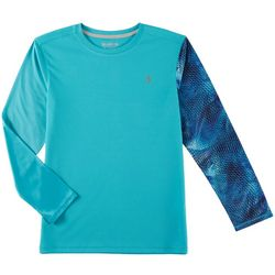 Reel Legends Big Boys Freeline Scales Rashguard