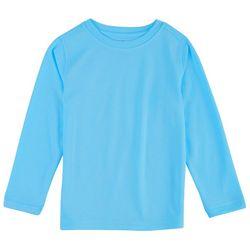 Reel Legends Big Boys Freeline Logo Long Sleeve T-Shirt