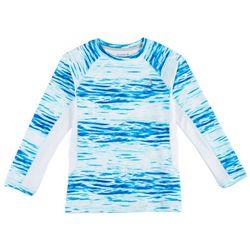 Reel Legends Big Boys Keep It Cool Waterlines T-Shirt