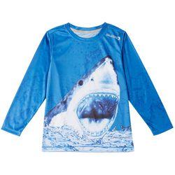 Reel Legends Little Boys Reel-Tec Great Bite T-Shirt