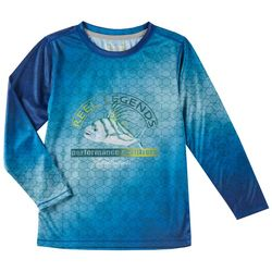 Reel Legends Little Boys Reel-Tec Roosterfish T-Shirt
