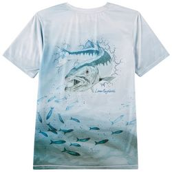 Reel Legends Big Boys Reel-Tec Barracuda T-Shirt