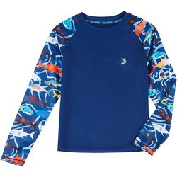 Reel Legends Little Boys Sarasota Shark Rashguard