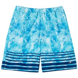 Reel Legends Big Boys Shatter Glass Swim Shorts