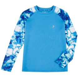 Reel Legends Big Boys Shoreline Camo Rashguard