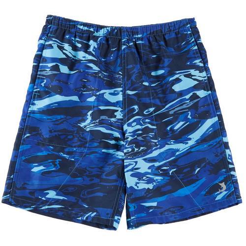 4a8408b25a6 Reel Legends Big Boys Aqua Camo Swim Shorts | Bealls Florida