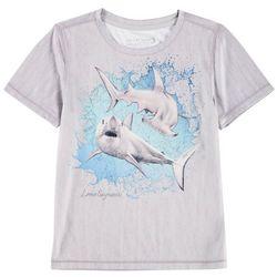 Reel Legends Little Boys Reel-Tec Shark T-Shirt