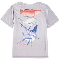 Reel Legends Little Boys Reel-Tec Redfish T-Shirt