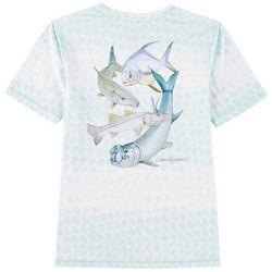 Reel Legends Big Boys Reel-Tec In Shore T-Shirt
