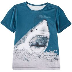 Reel Legends Big Boys Reel-Tec Great White T-Shirt
