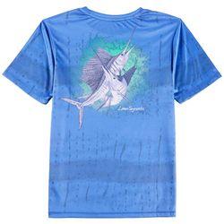Reel Legends Big Boys Reel-Tec Sailfish T-Shirt