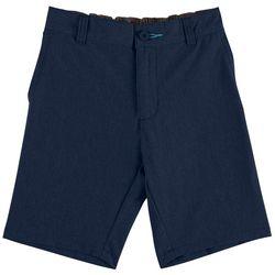 Reel Legends Little Boys Heather Hybrid Shorts