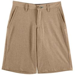 Reel Legends Big Boys Heather Hybrid Shorts