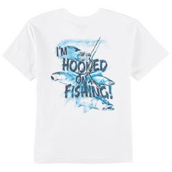 Reel Legends Big Boys Hooked On Fishing T-Shirt