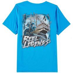 Reel Legends Big Boys Sunken Ship T-Shirt