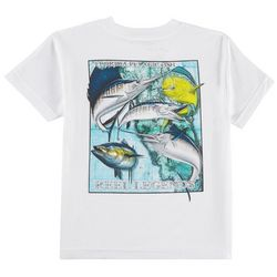 Reel Legends Little Boys Florida Pelagic Fish T-Shirt