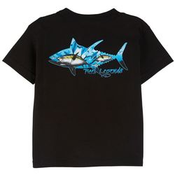 Reel Legends Little Boys Fish Sublimation T-Shirt