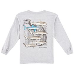 Reel Legends Big Boys Florida Sharks Long Sleeve T-Shirt