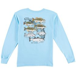 Reel Legends Big Boys Bass Species Long Sleeve T-Shirt