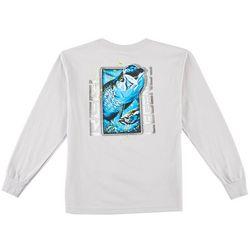Reel Legends Big Boys Largemouth Bass Long Sleeve T-Shirt