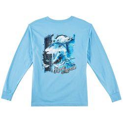 Reel Legends Big Boys Assorted Fish Long Sleeve T-Shirt