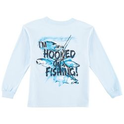 Reel Legends Little Boys I'm Hooked On Fishing T-Shirt