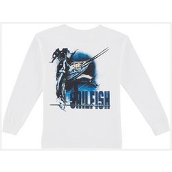 Reel Legends Little Boys Sailfish Long Sleeve T-Shirt