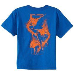 Reel Legends Big Boys Skeleton T-Shirt
