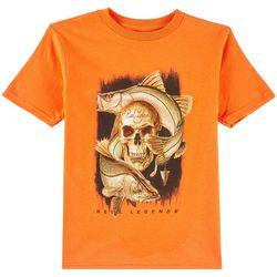 Reel Legends Little Boys Snook T-Shirt