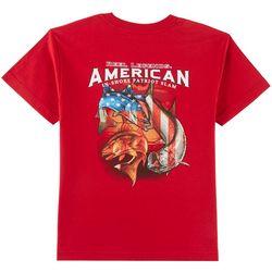 Reel Legends Big Boys Patriotic Fish T-Shirt