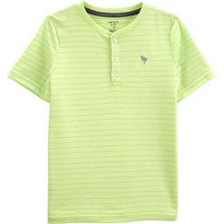 Carters Little Boys Stripe Henley Shirt