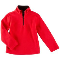 French Toast Little Boys Solid Fleece Jacket