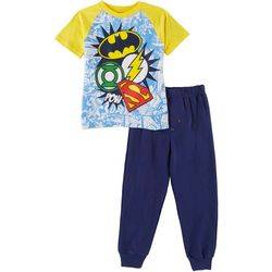 DC Comics Justice League Little Boys 2-pc. Pants Set