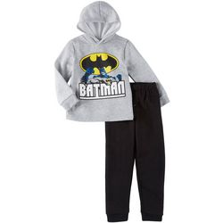 DC Comics Batman Little Boys Logo Hoodie & Pants Set