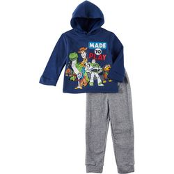 Disney Toy Story Little Boys 2-pc. Made To Play Hoodie Set