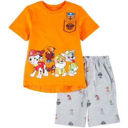Nickelodeon Paw Patrol Little Boys Shorts Set