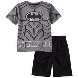 DC Comics Batman Little Boys Chest Logo Shorts