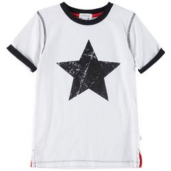 Flapdoodles Little Boys Star T-Shirt