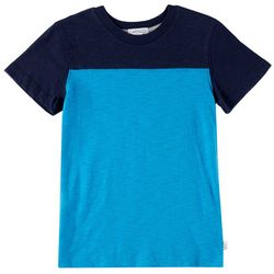 Flapdoodles Little Boys Football Colorblock T-Shirt