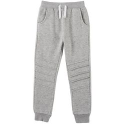 Flapdoodles Little Boys Solid Knit Jogger Pants