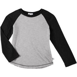 Flapdoodles Toddler Boys Raglan Long Sleeve T-Shirt