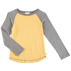 Flapdoodles Little Boys Raglan Long Sleeve T-Shirt